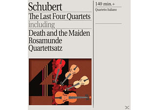The Quartetto Italiano - Streichquartette 12-15 [CD]