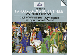 Preston Simon, Preston,Simon/Pinnock,Trevor/EC - Coronation Anthem/Concerti.A Due Cori [CD]