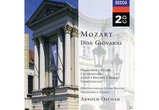 VARIOUS, Hagegard/Bonney/Terfel/Östman/+ - Don Giovanni (Ga) [CD]