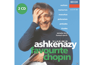 Vladimir Ashkenazy - Favorite Chopin - (CD)
