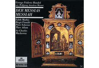 VARIOUS, Mathis/Schreier/Mackerras/ORFSO - Der Messias (Ga, Mozart-Bearb.) [CD]