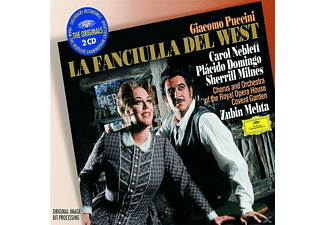 Zubin Metha, Domingo/Neblett/Metha/ROHO/+ - La Fanciulla Del West (Ga) - (CD)