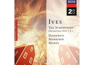 VARIOUS, Mehta/Marriner/Dohnanyi/CLO/AMF - Sinfonien 1-4/+ - (CD)