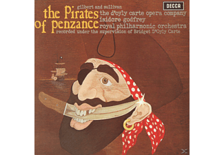Isidore Godfrey, D'oyly Carte Opera Company, Isidore D'oyly Carte Opera Company/godfrey - The Pirates Of Penzance - (CD)
