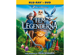 De fem legenderna Animation / Tecknat Blu-ray + DVD