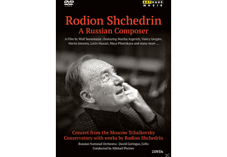 David Geringas, Russian National Orchestra - Rodion Shchedrin - A Russian Composer - (DVD)