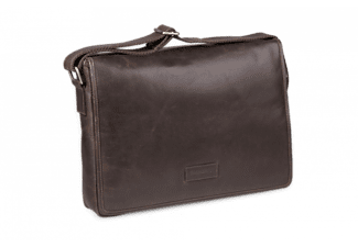 DBRAMANTE1928 Marselisborg Messenger Bag 14 - Mörkbrun