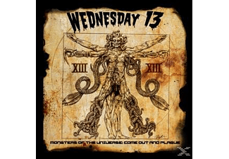 Wednesday 13 - Monsters Of The Universe: Come Out - (CD)