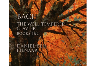 Daniel-ben Pienaar - Bach: The Well-Tempered Clavier Books 1 & 2 - (CD)