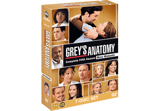 Grey's Anatomy S5 Drama DVD