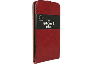V-DESIGN VD 194, Flip Cover, iPhone 6 Plus, Rot