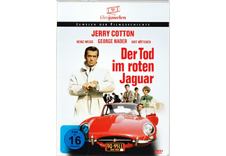 DER TOD IM ROTEN JAGUAR (JERRY COTTON) [DVD]