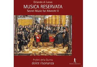 Dolce Risonanza Profeti Della Quinta - Musica Reservata-Secret Music For Albrecht V. - (CD)
