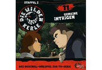 Die Wilden Kerle - (11)Original Hörspiel Z.Tv-Serie-Gemeine Intrigen - (CD)
