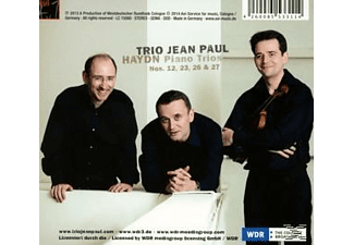 Jean Paul Trio - Klaviertrios - (CD)