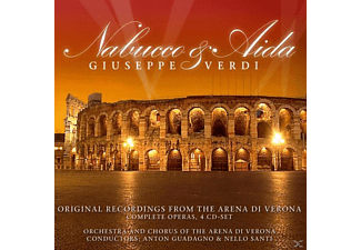 Giuseppe Verdi - Nabucco & Aida:Orig.Rec.From The Arena Di Verona - (CD)