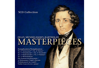 VARIOUS - Mendelssohn-Bartholdy: Master Pieces - (CD)