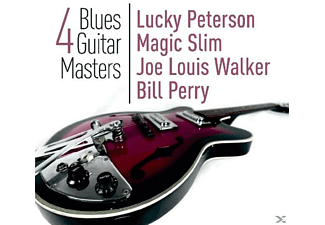 VARIOUS - 4 Blues Guitar Masters - (CD)