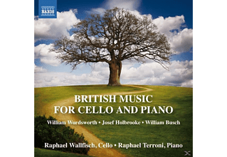 Terroni Wallfisch - British Music for Cello and Piano - (CD)