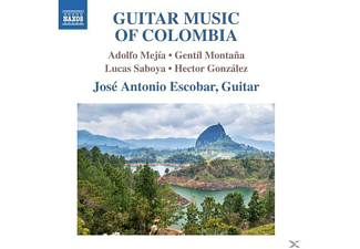 Escobar - Guitar Music of Colombia - (CD)