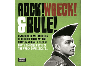 VARIOUS - Rock! Wreck! & Rule! [CD]
