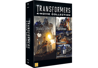 Transformers 1-4 Box Action DVD