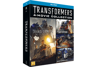 Transformers 1-4 Box Action Blu-ray