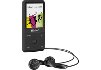 TREKSTOR 79324 i.Beat move BT Audio Player (8 GB, Schwarz)