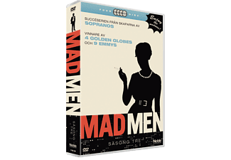 Mad Men S3 Drama DVD