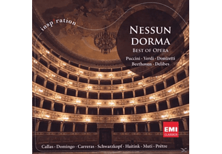 VARIOUS - NESSUN DORMA - BEST OF OPERA [CD]
