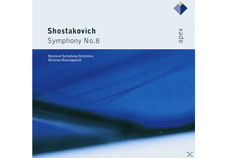 National Po, ROSTROPOWITSCH/NSO - Sinfonie 8 - (CD)