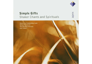 Bc - Simple Gifts-Shaker Chants & Spirituals [CD]