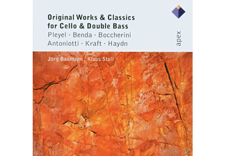 Klaus Stoll - Original Works & Classics For Cello & Double Bass - (CD)