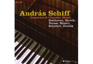 András Schiff - Concertos & Chamber Music - (CD)
