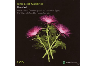 John Eliot Gardiner - Water Music/Concerti Grossi Op.3/Israel In Egypt/+ - (CD)
