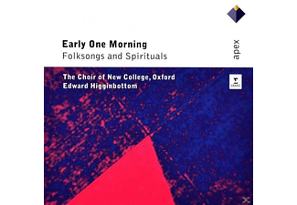 Edward/choir Of New College Oxford Higginbottom - Early One Morning-Folksongs & Spirituals - (CD)