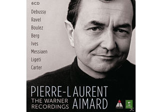 Pierre-Laurent Aimard, Emmanuel Pahud, Alexei Lubimov, Zimmermann Tabea, Sophie Cherrier - The Warner Recordings - Pierre-Laurent Aimard [CD]