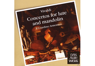 VARIOUS - Concertos For Lute And Mandolin [CD]