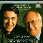 Mstislav Rostropovich, Vengerov/Rostropowitsch/Lso - Violinkonzerte (CD) jetztbilligerkaufen