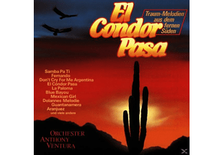 Anthony Ventura - El Condor Pasa - (CD)
