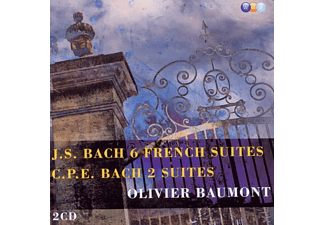 Olivier Baumont - Bach: 6 French Suites [CD]