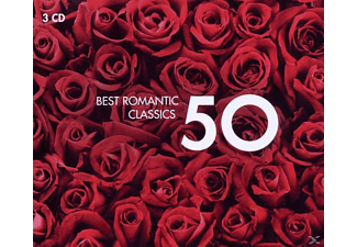 VARIOUS - 50 Best Romantic Classics [CD]