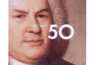 VARIOUS - 50 Best Bach [CD]