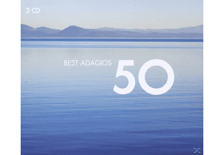 VARIOUS - 50 Best Adagios - (CD)