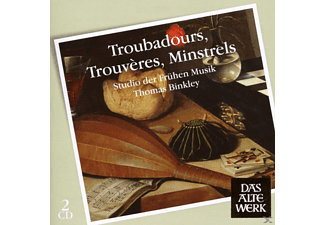 Thomas Binkley - Troubadours, Trouveres, Minstrels - (CD)
