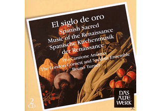 Pro Cantione Antiqua - El Siglo De Oro-Spanish Sacred Music Of The Renaissance - (CD)