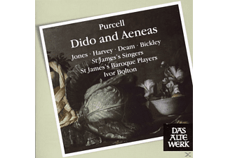 IVOR & ST.JAMES'S BAROQUE PLAYERS Bolton - Dido And Aeneas - (CD)