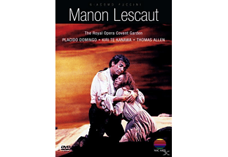 Royal Opera Covent Garden, The/Te Kanawa, Kiri/Domingo, Plácido - Manon Lescaut [DVD]