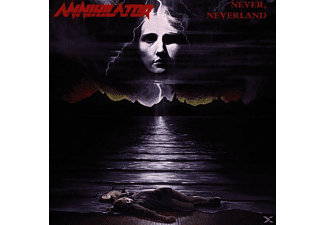 Annihilator - NEVER NEVERLAND (RE-ISSUE) - (CD)
