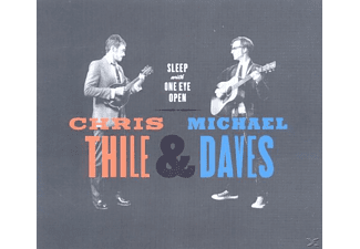Thile, Chris / Daves, Michael - Sleep With One Eye Open - (CD)